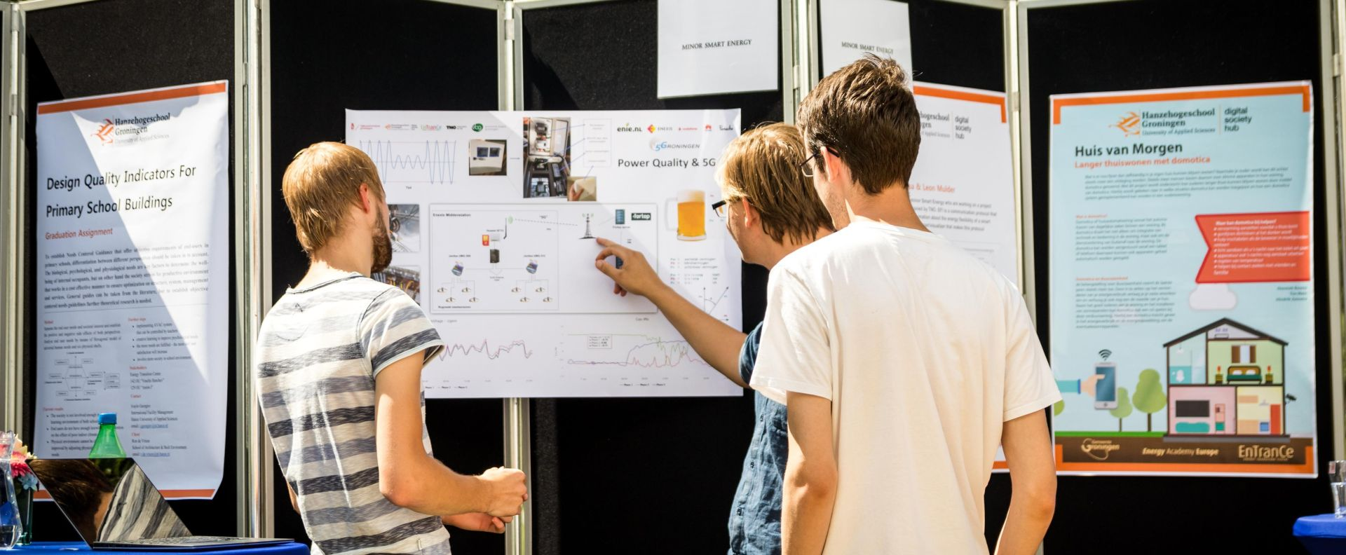 Studenten minor Smart Energy vallen in de prijzen tijdens TransFuture Festival