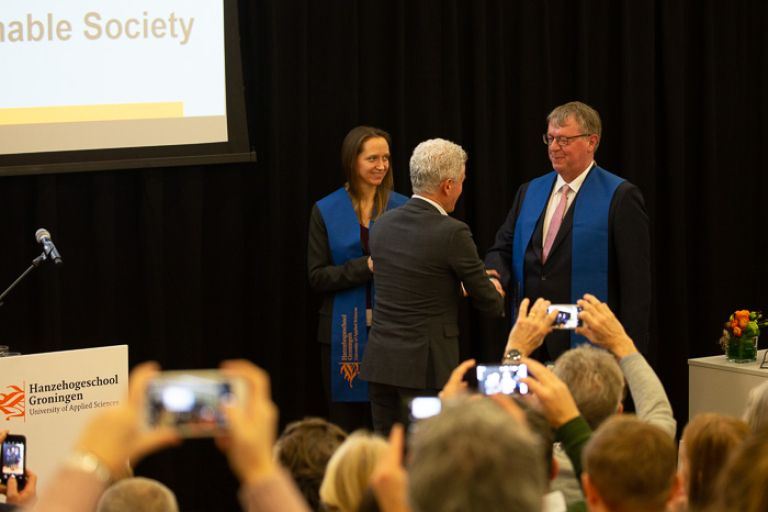 Lectoraat Communication, Behaviour & the Sustainable Society officieel geïnstalleerd