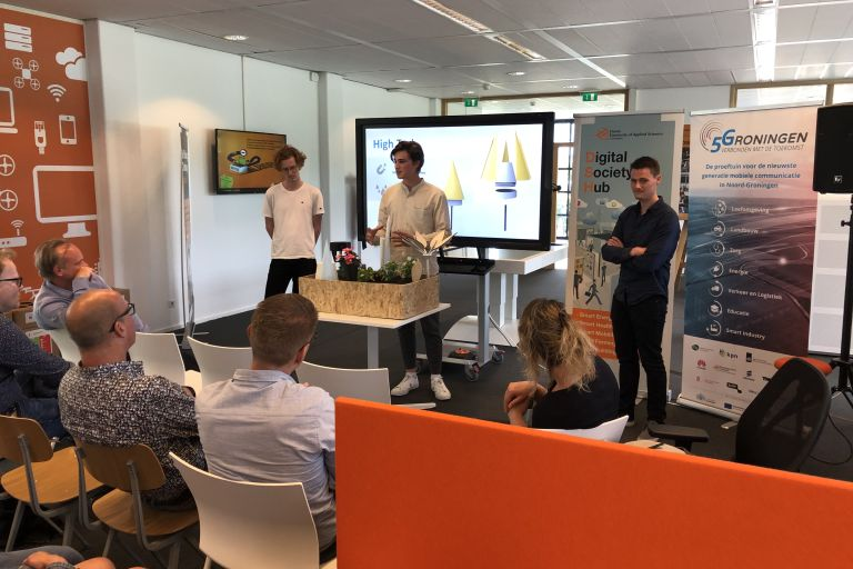 Studenten presenteren bevindingen over Smart Potato
